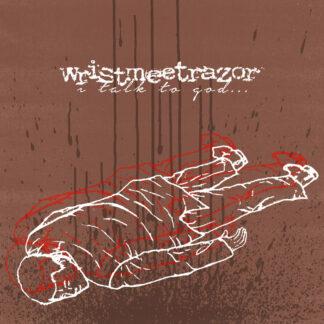 "wristmeetrazor - i talk to god... but the sky is empty 2x7"" LP"