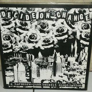 decide on change - a hardcore-punk compilation LP
