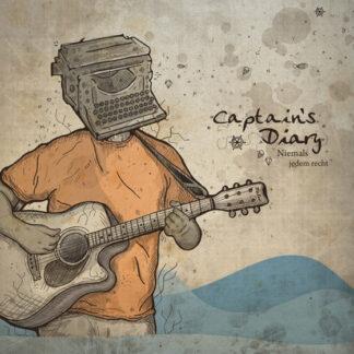 captain's diary - niemals jedem recht LP