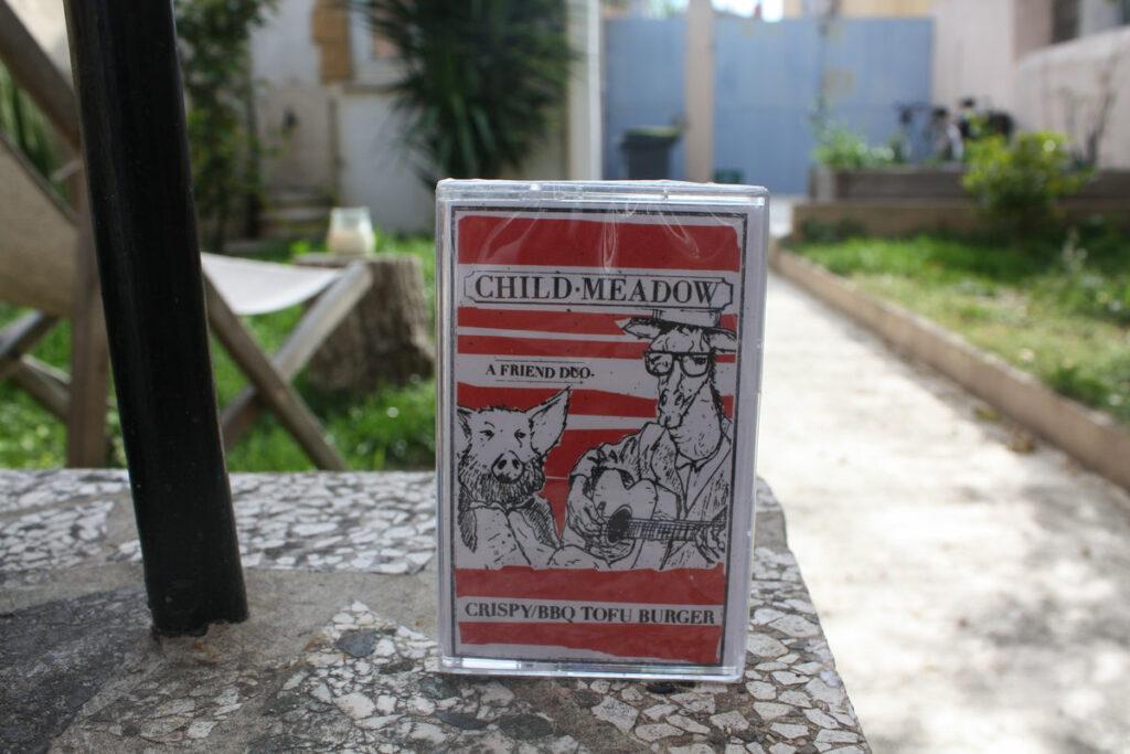 child meadow - cripsy bbq tofu burger cassette