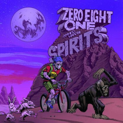 "spirits / zero eight one split 7"""