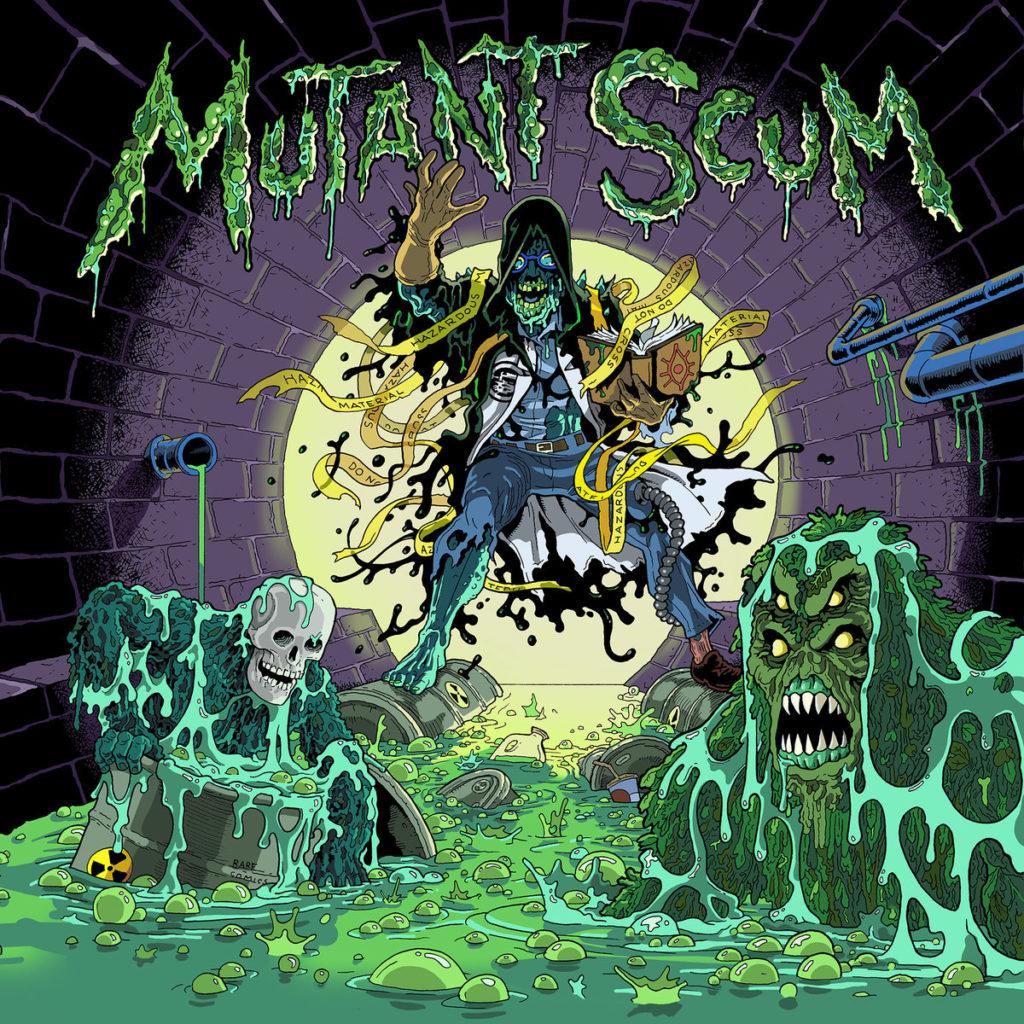 mutant scum s/t LP